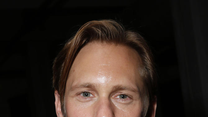 """Alexander Skarsgard attends the """"What Maisie Knew"""" After Party at Storys on Friday Sept 7, 2012, in Toronto. (Photo by Todd Williamson/Invision /AP Images)"""