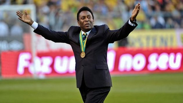 Brazil legend Pele (Reuters)