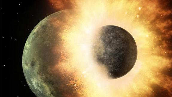 Giant Moon-Forming Impact On Early Earth May Have Spawned Magma Ocean