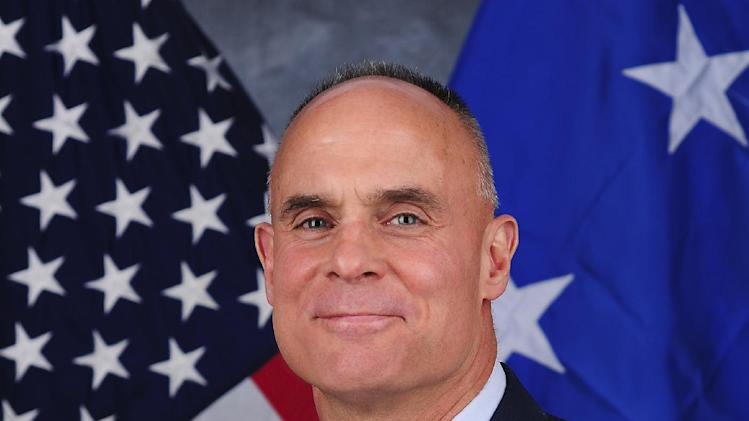 FILE - This undated file photo provided by the U.S. Air Force shows Lt. Gen. Craig Franklin, who overturned the sexual assault conviction of Lt. Col. James Wilkerson. The Air Force's decision to transfer Wilkerson to a Tucson military base has outraged the family of Kimberly Hanks, the woman who made the allegations, adding to the growing criticism of the military justice system. The family says the transfer of Wilkerson to Davis-Monthan Air Force Base on the southern edge of Tucson is upsetting because roughly half of Hanks' family lives there. (AP Photo/U.S. Air Force, File)