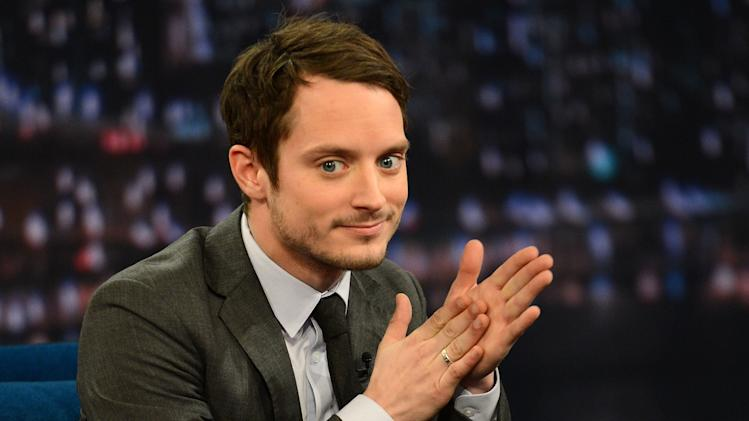"Elijah Wood Visits ""Late Night With Jimmy Fallon"""