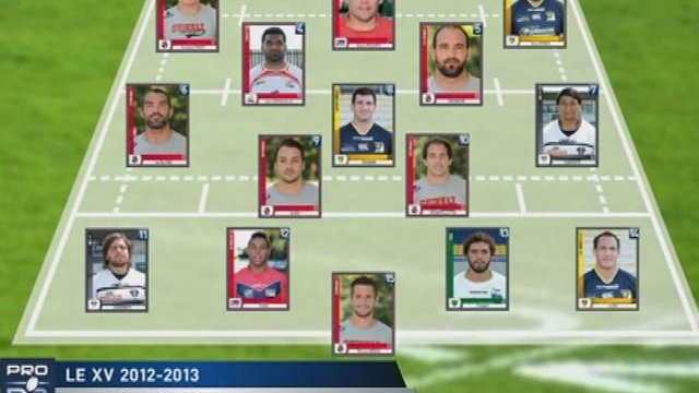 Pro D2: Le XV de la saison 2012-2013