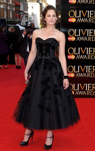 Ruth Wilson Wears McQ To The Olivier Awards 2012: First Red Carpet Sighting!