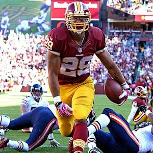 Roy Helu surpassing sleeper status
