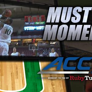 Miami's Sheldon McClellan Wows Crowd with 360 Dunk | ACC Must See Moment