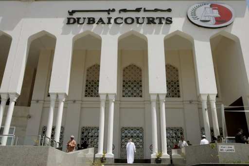 View of the Dubai Courts building in 2010. A Dubai court has freed on bail American Zack Shahin, who was in jail on fraud charges and has been on a hunger strike since May 14, media reported on Friday
