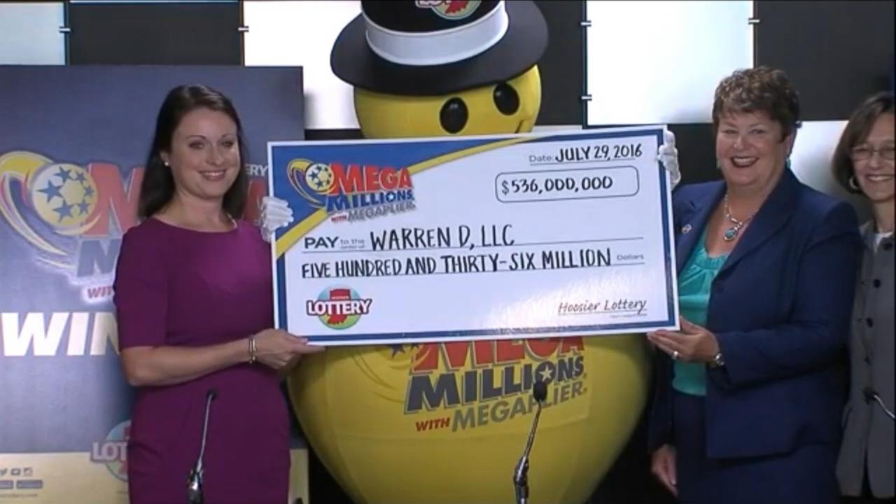 $536 Million Jackpot Finally Claimed by Indiana Couple who Forgot They Bought Tickets