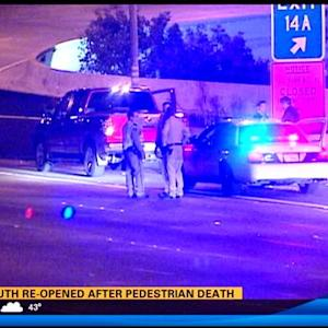 Southbound I-5 reopened after pedestrian death