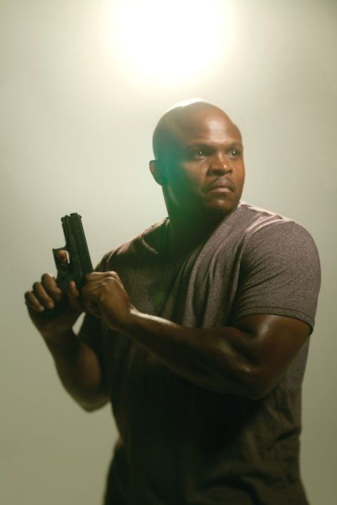 "Robert 'IronE' Singleton as T-Dog on ""The Walking Dead."""