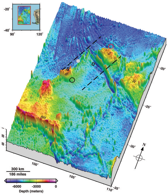 New Seafloor Map Could Help Flight 370 Search