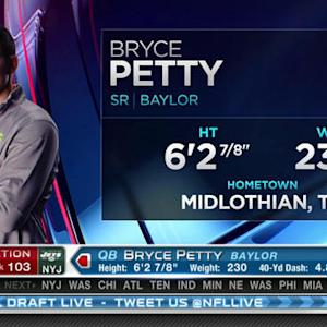 Was quarterback Bryce Petty a good or a bad pick for the New York Jets?