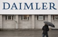 The venue for Daimler's annual shareholders meeting in Berlin pictured April 13, 2011. German automaker Daimler said on Friday that it has agreed to acquire a 12-percent stake in BAIC Motor, the passenger car unit of China's Beijing Automotive Group (BAIC)