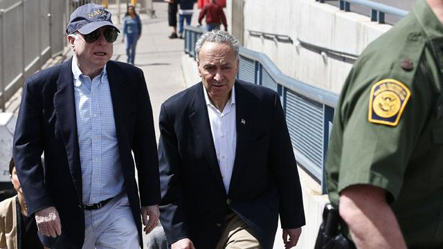 'Gang of 8' Senators on Tour in Arizona Get to See Border Patrol in Action