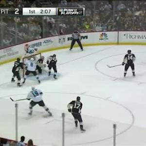 Sharks at Penguins / Game Highlights