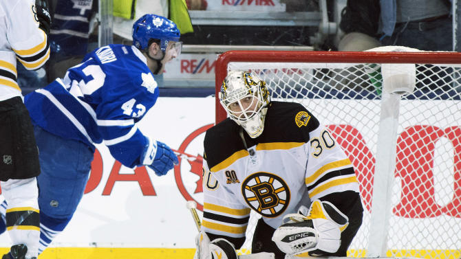 Kadri lifts Leafs over Bruins in OT 4-3
