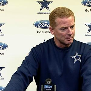 Dallas Cowboys head coach Jason Garrett on DeMarco Murray: 'We'll evaluate day by day'