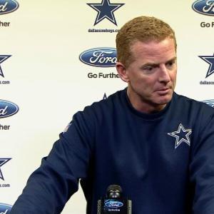 Dallas Cowboys head coach Jason Garrett on DeMarco Murray: 'We'll evaluate day by day'