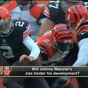 Will Cleveland Browns quarterback Johnny Manziel's size hinder his development?