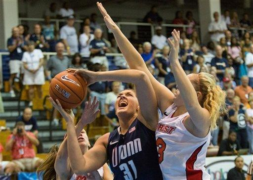No. 2 Connecticut women rout Marist 81-39