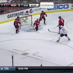 Braden Holtby Save on Brian Flynn (13:41/2nd)