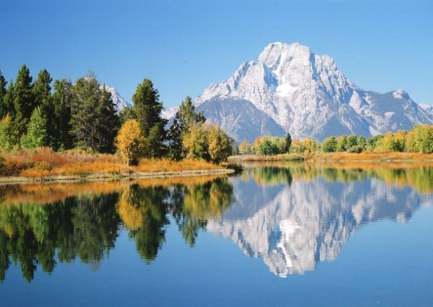 Mount Moran at Oxbow Bend