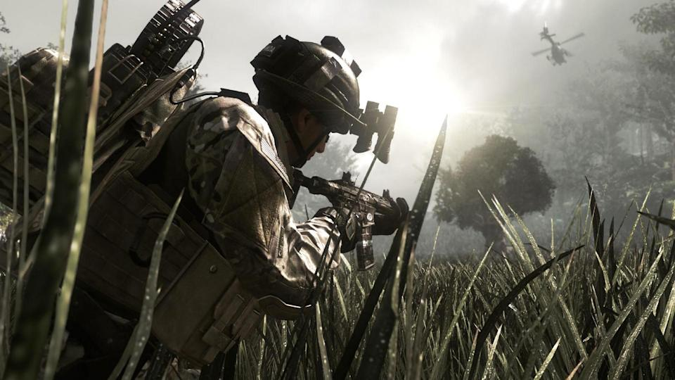 "This video game image released by Activision shows a scene from ""Call of Duty: Ghosts,"" the tenth installment in the Call of Duty series. (AP Photo/Activision)"