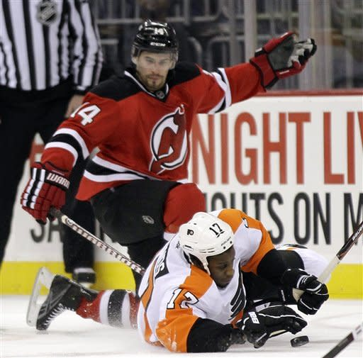 Flyers-Devils Preview