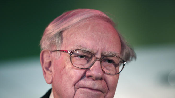 Warren Buffett, Chairman and CEO of Berkshire Hathaway is pictured November 26, 2013