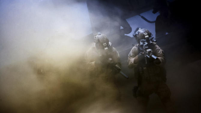 """This film image released by Columbia Pictures shows a scene from """"Zero Dark Thirty,"""" directed by Kathryn Bigelow.   (AP Photo/Sony - Columbia Pictures)"""