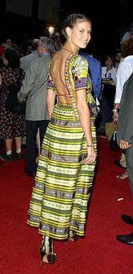 Premiere: Heidi Klum at the New York premiere of Warner Brothers' A.I.: Artificial Intelligence - 6/26/2001