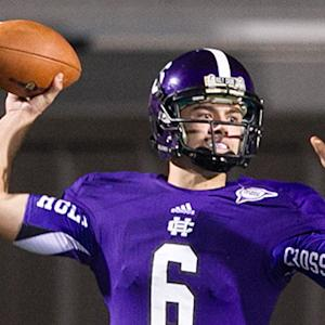 Holy Cross QB Pujals back after Rookie of the Year campaign
