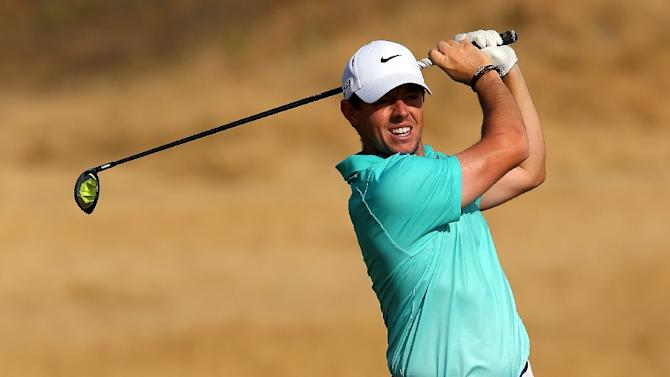 Rory McIlroy, pictured on June 16, 2015, has pulled out of the Scottish Open at Gullane