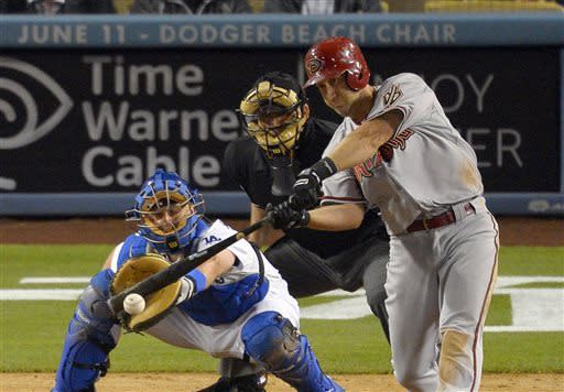 D-backs rally for 5-4 win over Dodgers