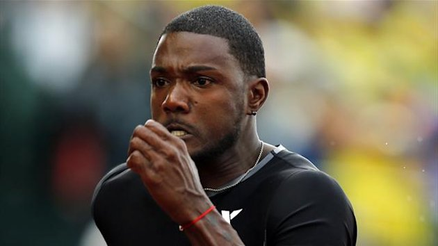 US sprinter Justin Gatlin (Reuters)