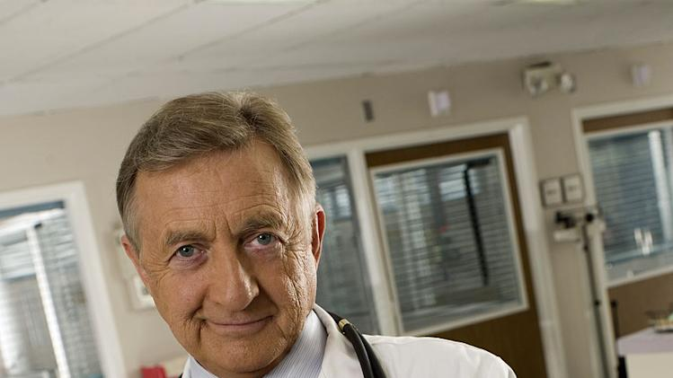 Ken Jenkins stars as Dr. Bob Kelso in Scrubs.