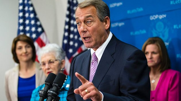 Angry Boehner Tells White House Shutdown Isn't a 'Damn Game' (ABC News)