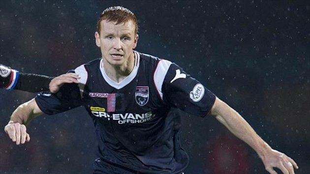 Scott Boyd opened the scoring for Ross County