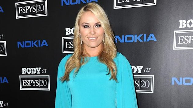 Starlet und Ski-Beauty Lindsey Vonn bei einer Celebration Party in Los Angeles