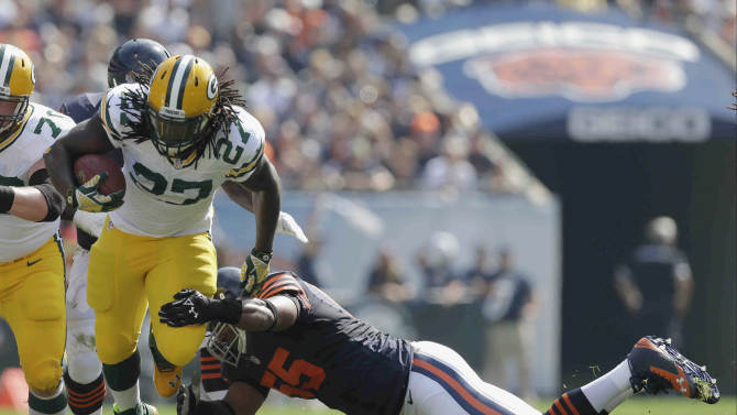 No rest: Packers seek lift for running game