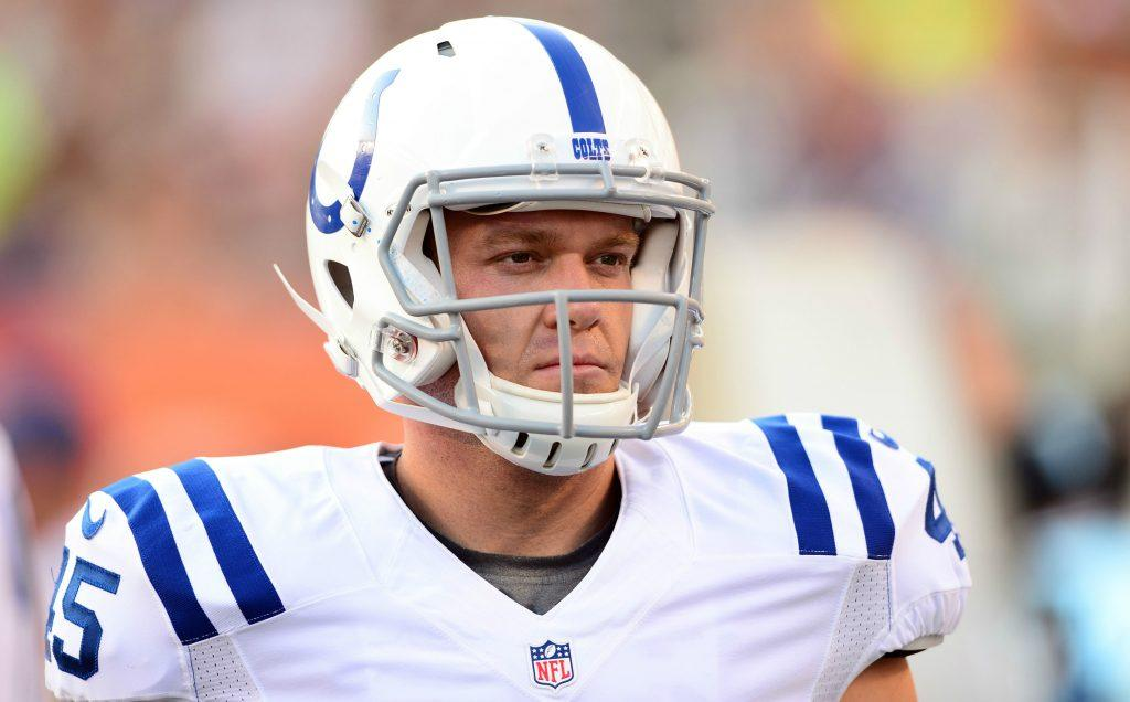 Colts Pro Bowl player wants to be a cop