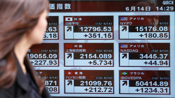 World stocks mixed as Asia rebounds