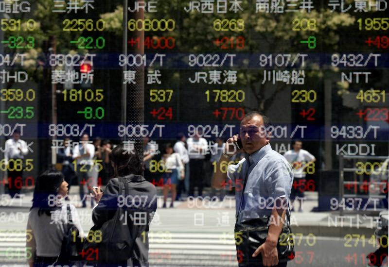 Asian stocks rise as post-Brexit rebound continues, yen held in check