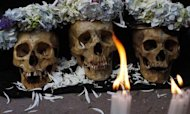 Bolivian Cult Celebrates &#39;Day Of The Skulls&#39;