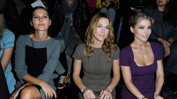 Elie Saab: Front Row - Paris Fashion Week Womenswear Spring / Summer 2013