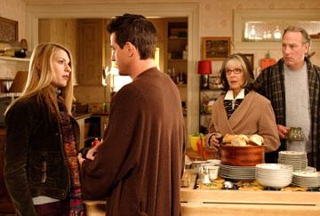 Claire Danes , Dermot Mulroney Diane Keaton and  Craig T. Nelson in 20th Century Fox's The Family Stone
