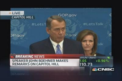 Boehner: President putting country on 'dangerous path'