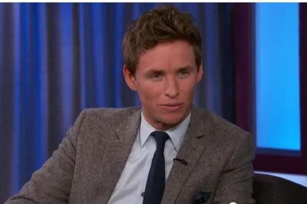 Eddie Redmayne Gushes Over Jennifer Aniston: We 'Just Literally Stalked' Her (Video)