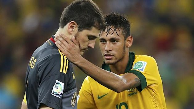 Iker Casillas, Neymar (Reuters)
