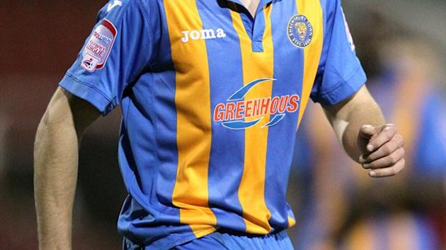 Shrewsbury have swooped to sign David McAllister