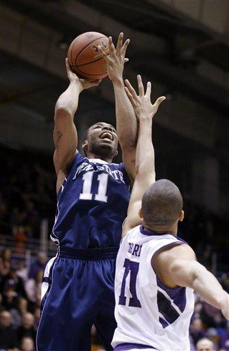 Penn State beats Northwestern 66-59